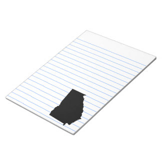 Georgia in Black and White Note Pad