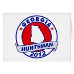 Georgia Jon Huntsman Greeting Card