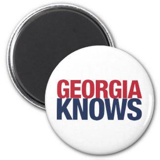 Georgia Knows Magnet