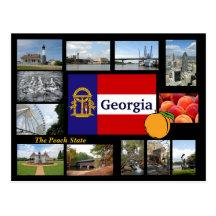 Georgia la postal del estado del melocotón