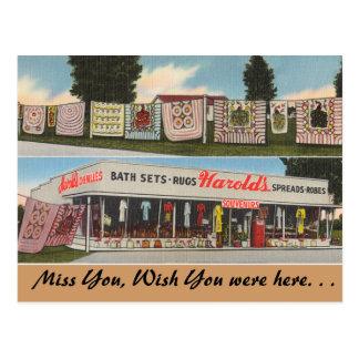 Georgia, la tienda de Harold Postales