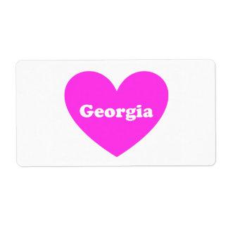 Georgia Label