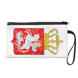 Georgia Lesser Coat Of Arms Wristlet Clutch