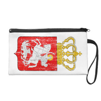 Georgia Lesser Coat Of Arms Wristlet Purse