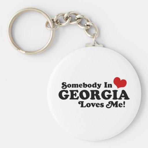 Georgia Llavero Personalizado