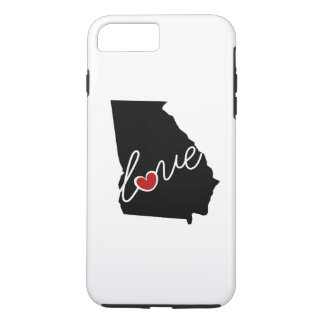 Georgia Love! Gifts for GA Lovers iPhone 7 Plus Case