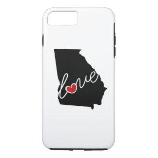 Georgia Love! Gifts for GA Lovers iPhone 8 Plus/7 Plus Case