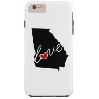 Georgia Love!  Gifts for GA Lovers Tough iPhone 6 Plus Case