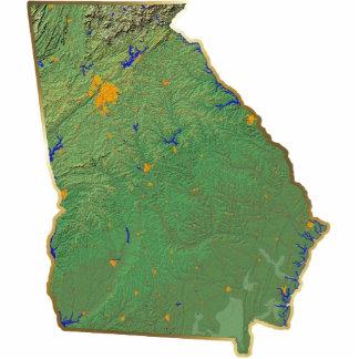 Georgia Map Magnet Cut Out