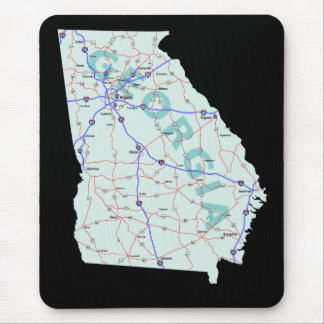 Georgia Map Mousepad