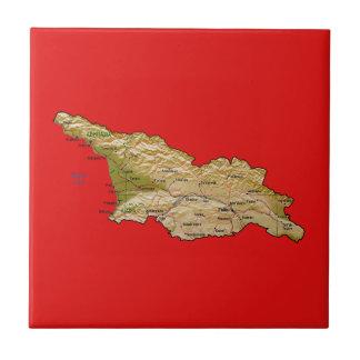 Georgia Map Tile