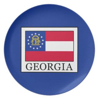 Georgia Melamine Plate