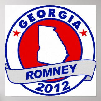 Georgia Mitt Romney Posters