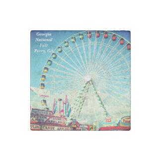 Georgia National Fair, Perry GA Stone Magnet