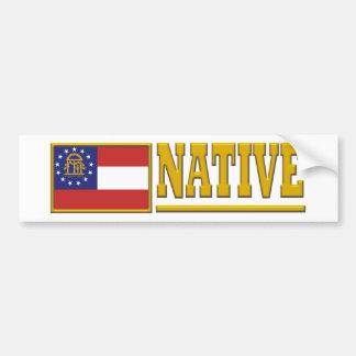 Georgia Native Car Bumper Sticker