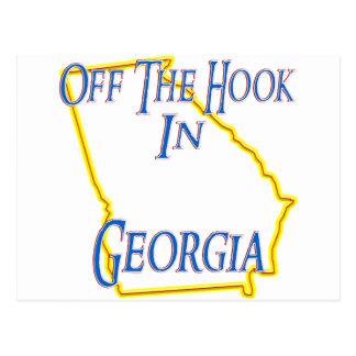 Georgia - Off The Hook Postcard