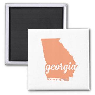 georgia | on my mind | peach magnet