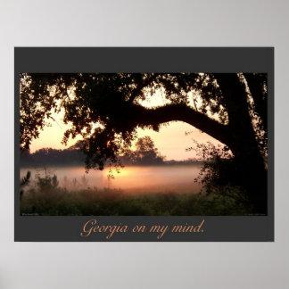 Georgia On My Mind Posters