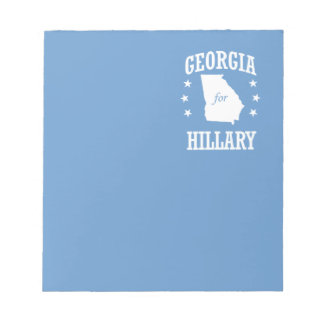 GEORGIA PARA HILLARY BLOC DE NOTAS