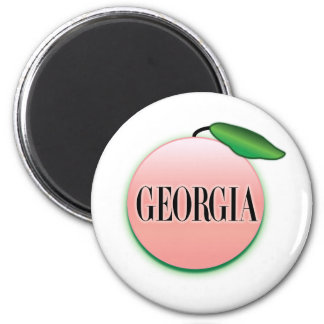 Georgia Peach Airbrush Magnet