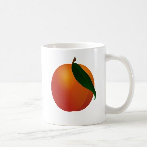 Georgia Peach / Apricot Fruit Mug