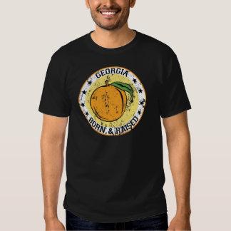 Georgia peach born raised.png shirts
