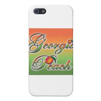 Georgia Peach - Cursive iPhone 5 Covers