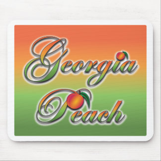 Georgia Peach - Cursive Mouse Pad