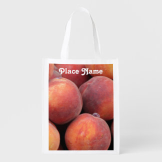 Georgia Peach Grocery Bag