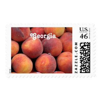 Georgia Peach Stamps