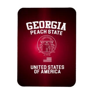 Georgia Peach State Magnet