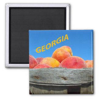 Georgia Peaches Magnet