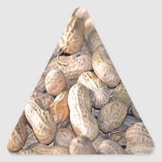 Georgia Peanut Triangle Sticker