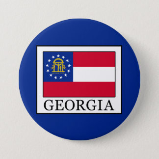 Georgia Pinback Button