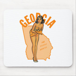 Georgia Pinup Mouse Pad