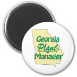 Georgia Plant Manager Magnets