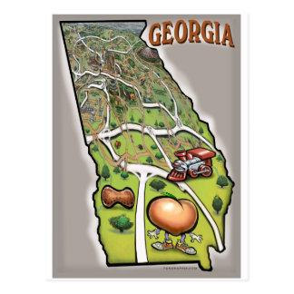 Georgia Post Card