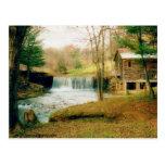 waterfall, georgia, country, creek