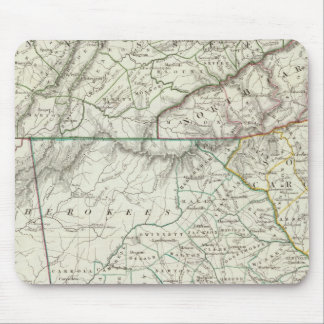 Georgia, pts of NC, SC, Tenn, Ala, Florida Mouse Pad