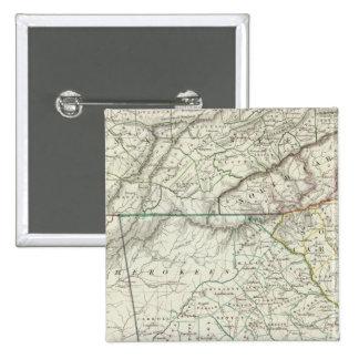 Georgia, pts of NC, SC, Tenn, Ala, Florida Pinback Button