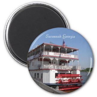 Georgia Queen 2 Inch Round Magnet