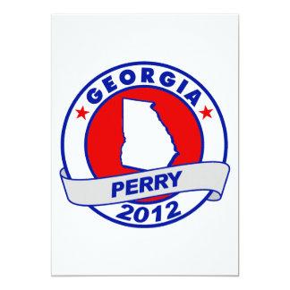 Georgia Rick Perry Invitación 12,7 X 17,8 Cm