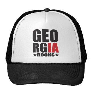 Georgia Rocks! State Spirit Apparel Trucker Hat