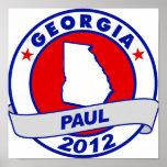 Georgia Ron Paul Poster
