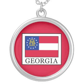 Georgia Round Pendant Necklace