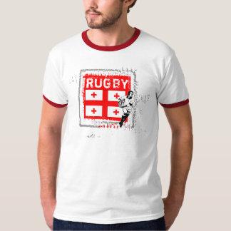 Georgia Rugby Fans T-Shirt Pass Ball