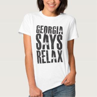 Georgia Says Relax Tee Shirt