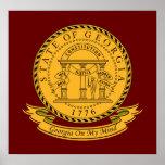 Georgia Seal Print