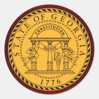 Georgia Seal Stickers