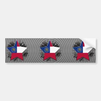 Georgia Star Bumper Stickers
